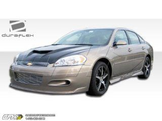 2006 2013 Chevrolet Impala Duraflex Racer Body Kit   4 Piece   Includes Racer Front Lip Under Spoiler Air Dam (103094) Racer Rear Lip Under Spoiler Air Dam (103096) Racer Side Skirts Rocker Panels (103095) Automotive