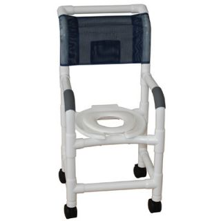 MJM International Standard Deluxe Small Adult Shower Chair with