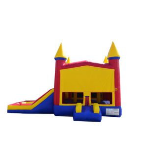 Rainbow Xtreme Wet/Dry Commercial Grade Inflatable Bouncy House and