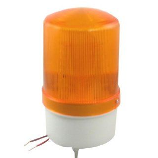 DC 24V Industrial Yellow LED Signal Flash Warning Indicator Light with Buzzer Automotive