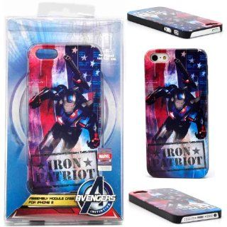 [Authentic] 86Hero Avengers Marvel Iron Man Patriot Cover Case for iPhone 5 5s Cell Phones & Accessories