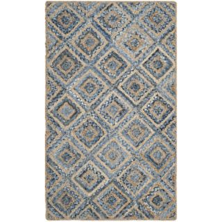 Safavieh Cape Cod Natural / Blue Rug