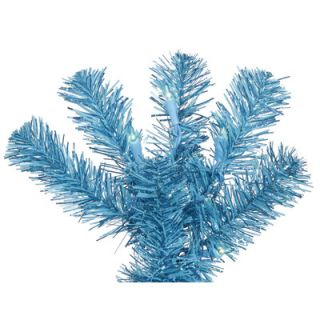 Sky Blue Artificial Christmas Tree with 250 Sky Blue Lights