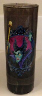 Disney Parks Sleeping Beauty Maleficent Glass Toothpick Holder NEW Drinkware Kitchen & Dining