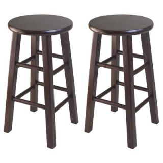 Winsome Square Leg Counter Stool Set (Set of 2)