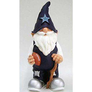 "Dallas Cowboys NFL 11"" Garden Gnome  Sports Fan Outdoor Statues  Sports & Outdoors"