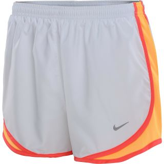 NIKE Womens Tempo Running Shorts   Size Medium, White/crimson