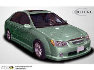 2005 2006 Kia Spectra Couture FX Body Kit   4 Piece   Includes FX Front Lip Under Spoiler Air Dam   Polyurethane (104799) FX Rear Lip Under Spoiler Air Dam   Polyurethane (104801) FX Side Skirts Rocker Panels   Polyurethane (104800) Automotive