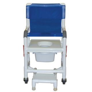 MJM International Standard Deluxe Shower Chair with Clamp On Seat and