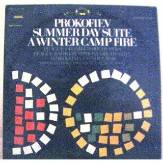 Prokofiev Summer Day Suite A Winter Camp Fire Prokofiev, Alois Klima, Prague Chamber Orchestra, Prague Radio Symphony Orchestra Music