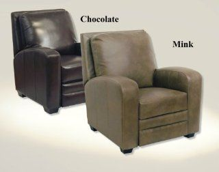 Catnapper 5518 Avanti Multi Position Leather Recliner in Chocolate