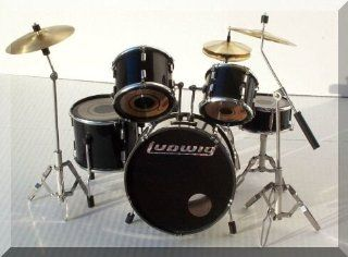 LUDWIG Miniature Mini Drum Set Drumset FOR DISPLAY ONLY Musical Instruments