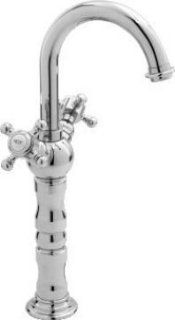 Altmans SO130H1DI Soraya Single Hole Vessel Faucet W/1Lb4 No Overflow Grid Drain Distressed Iron   Touch On Bathroom Sink Faucets