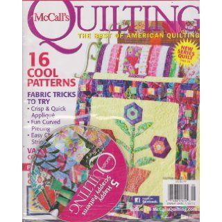 McCall's Quilting Magazine (July/August 2012) Various Books