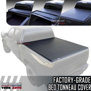 2006 2012 Honda Ridgeline 5.0' Bed Tri Fold Tonneau Cover Automotive