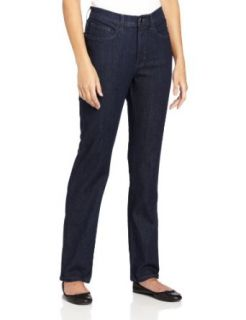 Lee Women's Lucille Classic Fit Straight Leg Stretch Jean, Sonic Blue, 4/Medium
