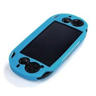 Cosmos � Light Blue Color Silicone bumper protection case cover for Playstation PS VITA & Cosmos Brand LCD Touch Screen Cleaning Cloth Computers & Accessories