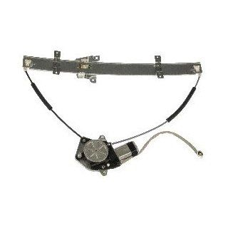 Dorman 741 974 Front Driver Side Replacement Power Window Regulator with Motor for Select Chevrolet/Suzuki Models Automotive