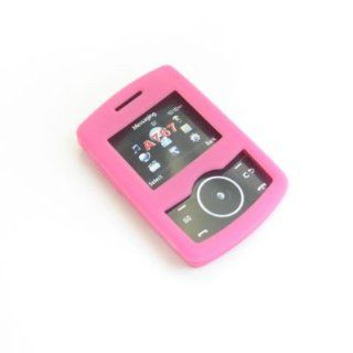 Samsung Propel A767 Trans. Pink Silicon Skin Case  Office Supplies