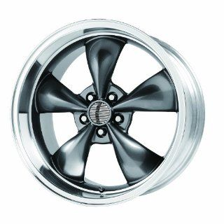 "Wheel Replicas V1119 Ford Mustang Bullitt Anthracite Wheel with Machined Lip (17x8""/5x4.75"") Automotive"
