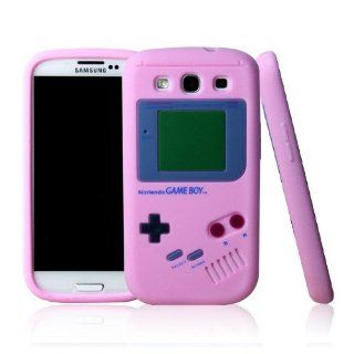 ke� for Samsung Galaxy S3 S III SGH I747 I9300 Baby Pink Gameboy Game Boy Silicone Case Soft Skin Cover Cell Phones & Accessories