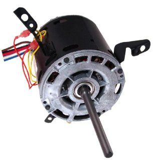 A.O. Smith 752A 1/4 HP, 1075 RPM, 4 Speed, 115 Volts3.9 Amps, 48 Frame, Sleeve Bearing Direct Drive Blower Motor   Electric Fan Motors