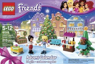 LEGO� Friends Advent Christmas Calendar 24 Buildable Gifts w/ Minifigures 41016 Toys & Games