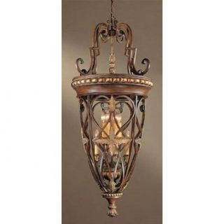 Minka Lavery 934 126 8 Light Foyer Lights   Belcaro Walnut   Ceiling Pendant Fixtures