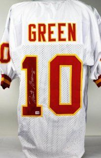 CHIEFS TRENT GREEN AUTHENTIC SIGNED JERSEY WHITE AUTOGRAPHED ITP CERTIFICATE OF AUTHENTICITY PSA/DNA #91JERSEY05 Sports Collectibles