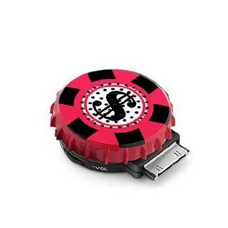 Lucky Move Collection Casino Chip Bottle Cap Speaker, For use with iPhone 4S and previous generation iPhone, iPad and iPod, Perfect Gift for Both the High Roller & the Occasional Gambler Kitchen & Dining
