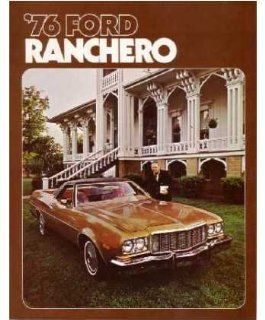 1976 Ford Ranchero Sales Brochure Literature Book Piece Advertisement Options Automotive
