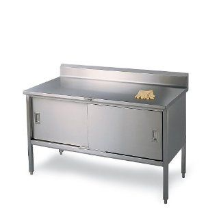 All Welded Stainless Steel Cabinet Style Worktables Tool Cabinets
