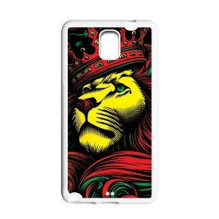 Lion Samsung Galaxy Note 3 N900 Case Cool Lion King with a Imperial crown Case Cover for Samsung Galaxy Note 3 Computers & Accessories
