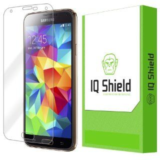 IQ Shield LIQuidSkin   Samsung Galaxy S5 Screen Protector with Lifetime Replacement Warranty   High Definition (HD) Ultra Clear Phone Smart Film   Premium Protective Screen Guard   Extremely Smooth / Self Healing / Bubble Free Shield   Kit comes in Frustra
