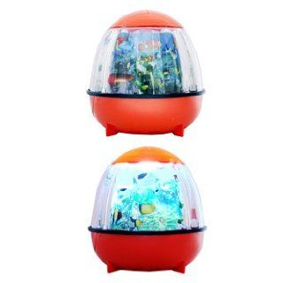 Moving Motion Fish Lamp   Orange   Table Lamps