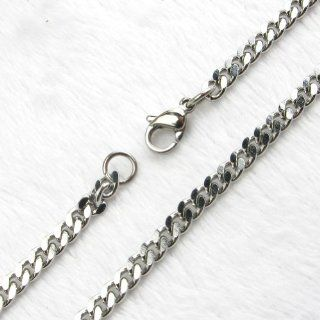 Fashion Mens Stainless Steel Hypoallergenic Chunky Curb Link Chain Necklace Jewelry