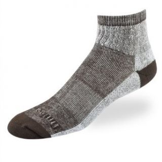 Timberland men's quarter socks with Thermo Cool bark 2 pairs Clothing