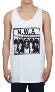 N.W.A. Hip Hop Group New White Cotton Men's Music Tank Top Vest Size L at  Men�s Clothing store Tank Top And Cami Shirts