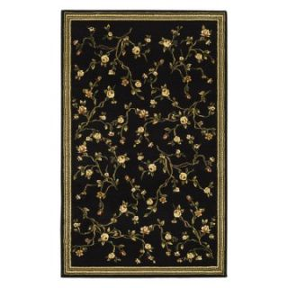 Safavieh Lyndhurst LNH220A Area Rug   Black/Green   Area Rugs