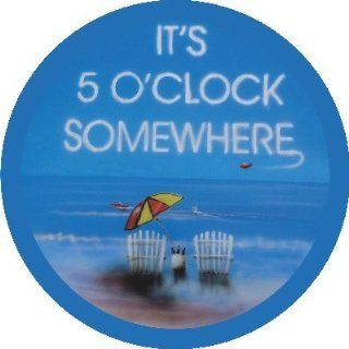 It's 5 O'clock Somewhere Blue Spare Tire Cover  Sports Fan Tire And Wheel Covers  Sports & Outdoors