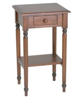 Office Star Products Knob Hill Telephone Table   End Tables