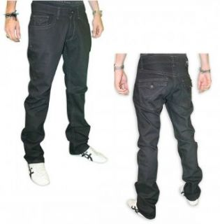 Silver Star 1993 Mens Premium MMA Jeans in Black (34) at  Men�s Clothing store