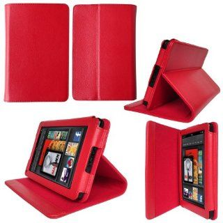 SUPCASE Kindle Fire Slim Fit Folio Leather Case with Stand (Black, First Generation) Electronics