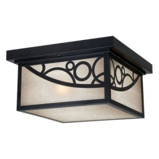Vaxcel Prosecco Outdoor Ceiling Light   11.5W in. Noble Bronze   Outdoor Ceiling Lights
