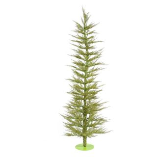 Vickerman Light Green Laser Christmas Tree   Christmas Trees