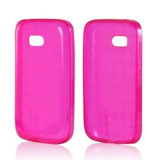 Argyle Hot Pink TPU Case for Nokia Lumia 822 Cell Phones & Accessories