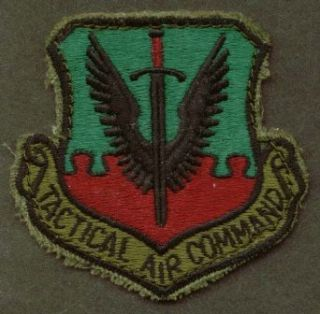 USAF Tactical Air Command subdued SSI patch Entertainment Collectibles