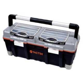 Tactix Tool Box with 2 pc. Organizer   Tool Boxes