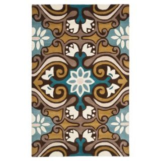 Safavieh Wyndham WYD327A Area Rug   Blue / Multi   Area Rugs