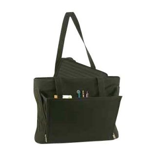 Bond Street Ltd Stebco Ladies Business Tote with Removable Laptop Sleeve   Black   Computer Laptop Bags